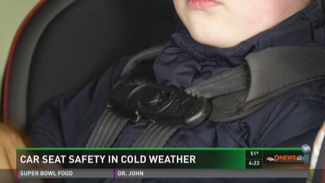 Car seat safety in cold weather