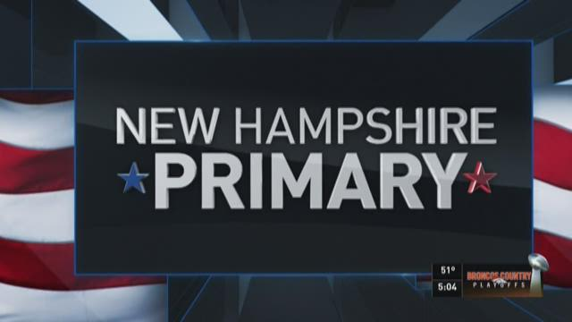 Updates on the New Hampshire primary