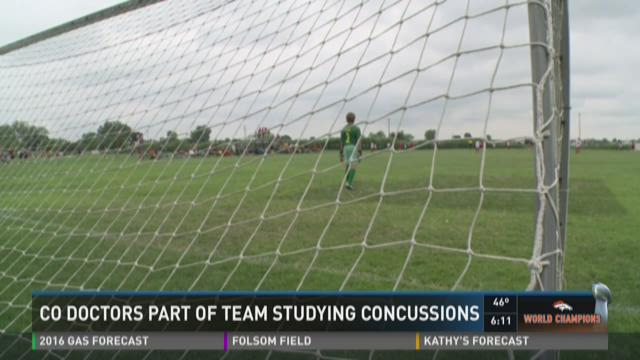 CO doctors part of team studying concussions
