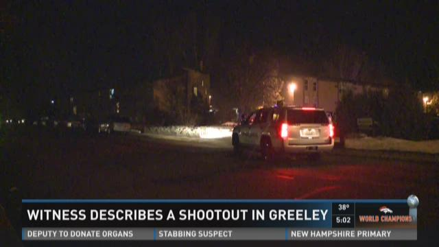 Reported shootout in Greeley
