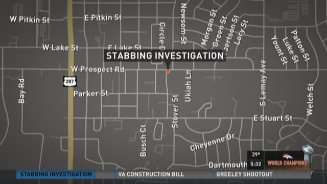 Police investigating stabbing in Fort Collins