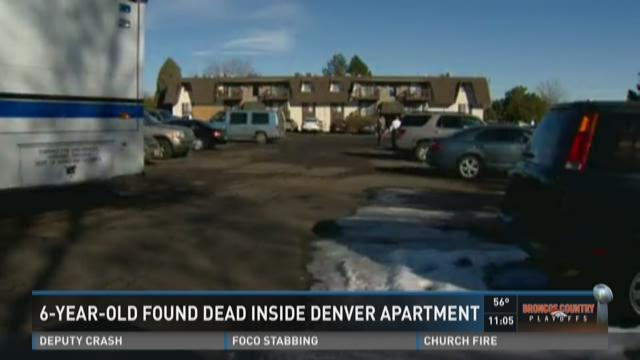 6-year-old found dead inside Denver apartment