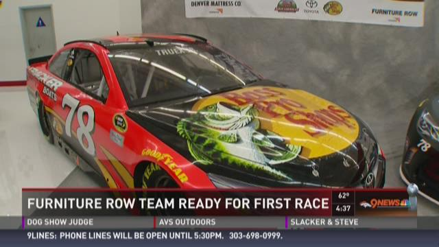 Furniture Row Racing ready for first race