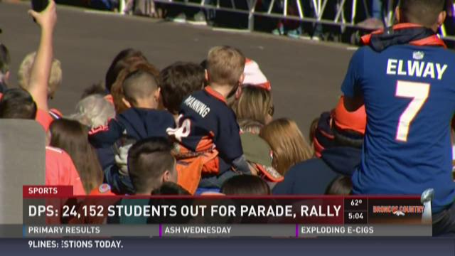 DPS: 24,152 students out for parade, rally
