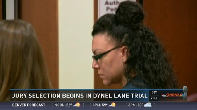 Jury selection begins for Dynel Lane case