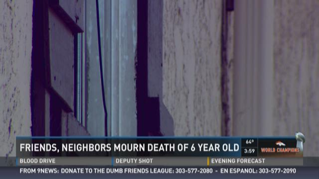 Friends, neighbors mourn death of 6-year-old