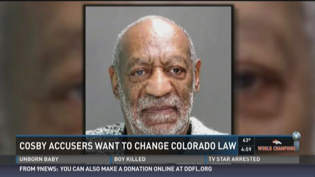 Cosby accusers want to change Colorado Law