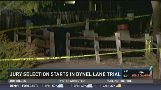 Jury slection in Dynel Lane trail