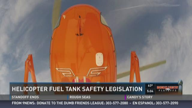 Helicopter fuel tank safety legislation