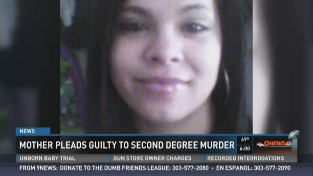 Mother pleads guilty to second-degree murder