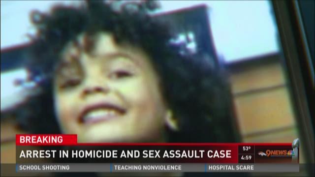 Arrest in homicide and sex assault case