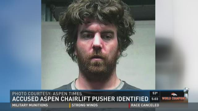Accused Aspen chairlift pusher identified