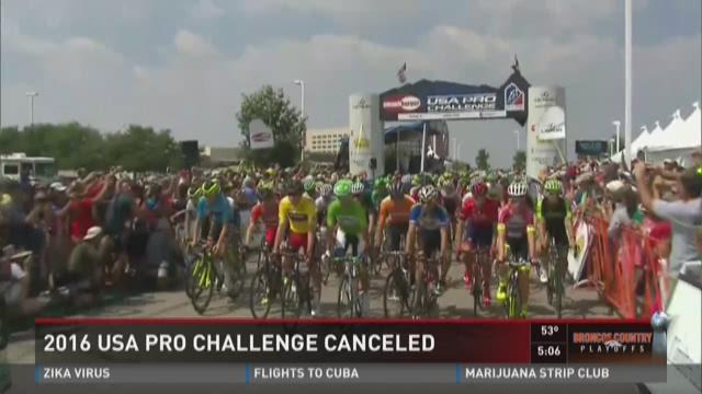 2016 USA Pro Challenge canceled