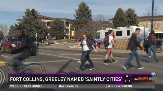 Fort Collins, Greeley named 'Saintly Cities'