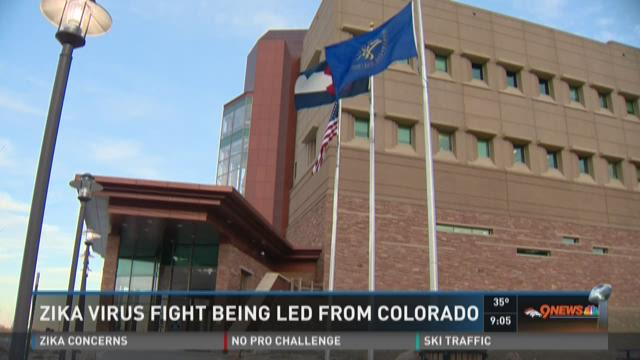 Zika Virus fight being led from Colorado