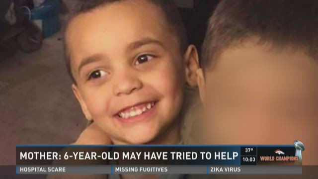 Mother: 6-year-old may have tried to help