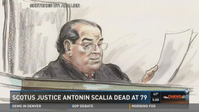 SCOTUS Justice Antonin Scalia dead at 79