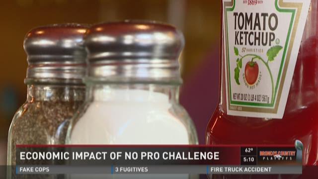 Economic impact of no Pro Challenge