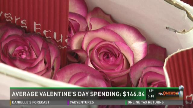 Average Valentine's Day spending: $146.84