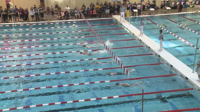 4A State Swimming Event 7