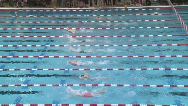 4A State Swimming Event 3