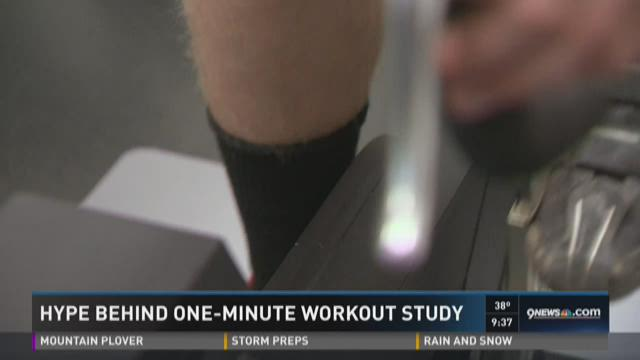 Hype behind one-minute workout study