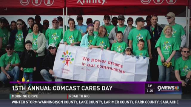 15th annual Comcast Cares Day