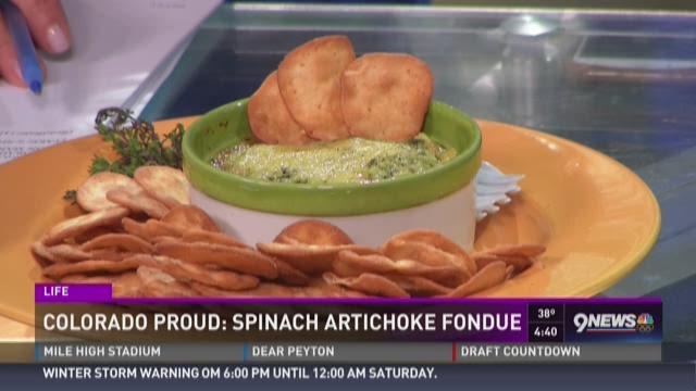 Spinach Artichoke Fondue