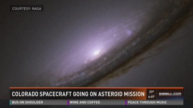 Colorado spacecraft going on asteroid mission