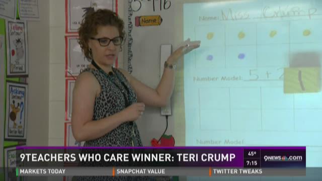 A kindergarten teacher born to teach