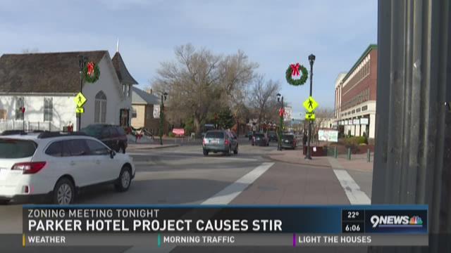 9News: Parker hotel divides residents, businesses - Denver Business