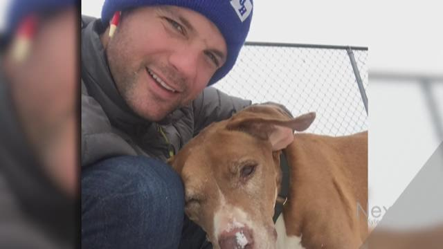 Internet breaks after attractive Denver guy adopts dog with cancer