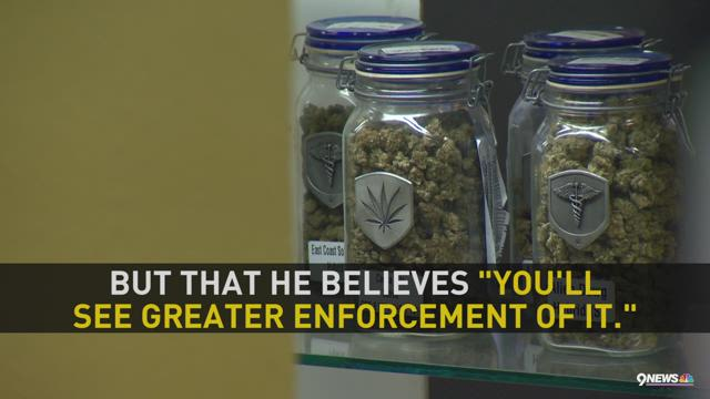 Justice may crack down on legalized marijuana : 9news.com