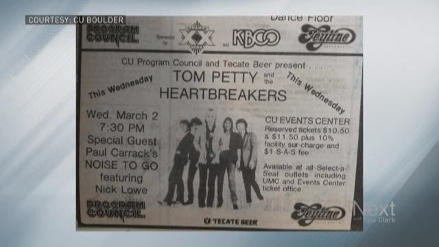 Remembering Tom Petty's stops in Colorado