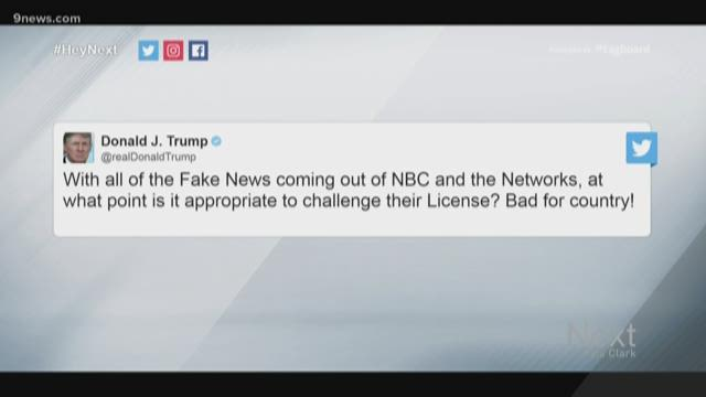 Verify: Can President Trump really get rid of NBC's 'license?'
