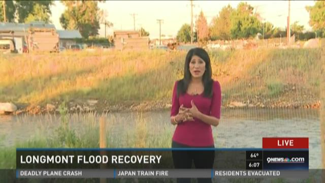 Longmont flood recovery: St. Vrain creek
