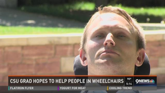 CSU grad hopes to help people in wheelchairs