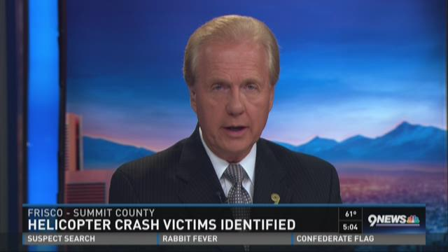 2 injured in fatal helicopter crash ID'd