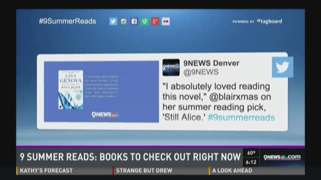 9NEWS journalists share what they're reading this summer