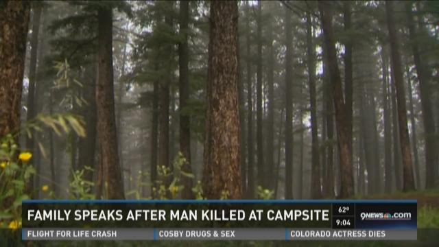 Family speaks after man killed at campsite