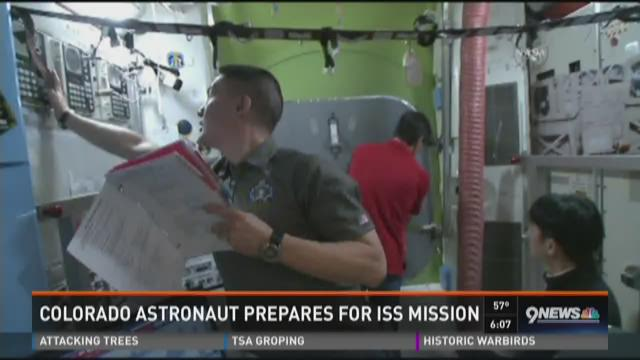 Colorado astronaut prepares for ISS mission