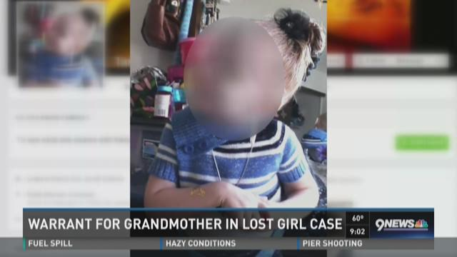Warrant for grandmother in lost girl case