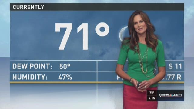Kathy sabine has your wednesday overnight weather forecast 9news at 9
