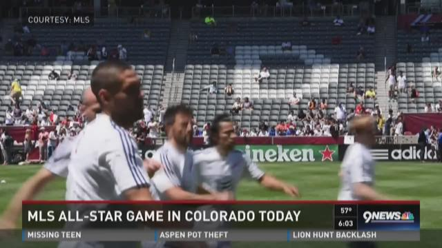 MLS All-Star Game in Colorado on Wednesday