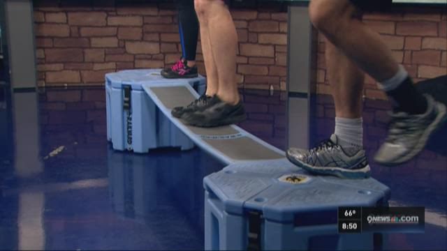 An at-home obstacle course that can strengthen your body