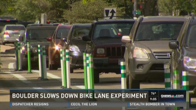Boulder slowing down bike lane expansion