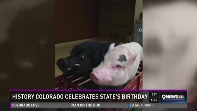 Happy 139th Birthday, Colorado!