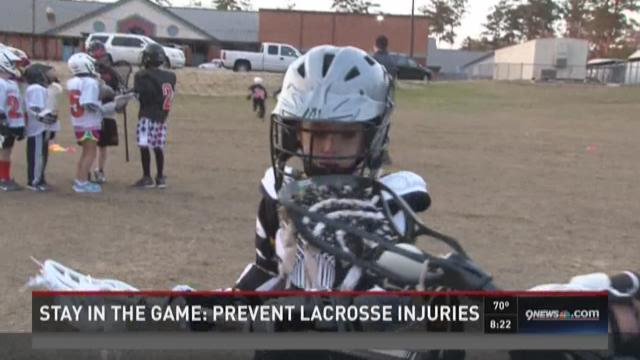 Stay in the Game: Avoid lacrosse injuries
