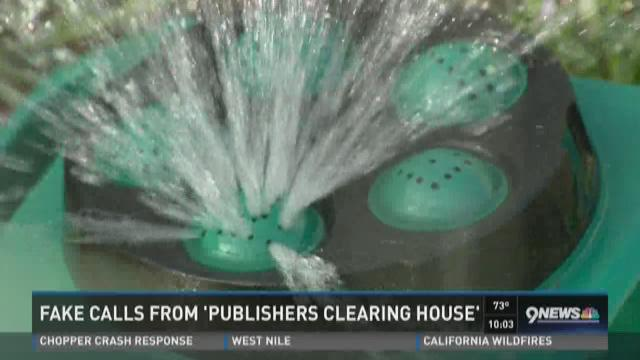 Fake calls from 'Publishers Clearing House'