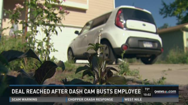 Deal reached after dash cam busts employee